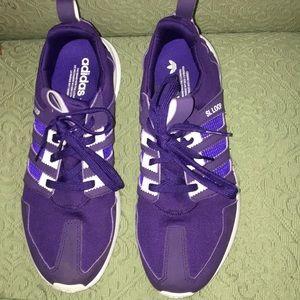 Like New comfortable women's Adidas Purple sz 10.5